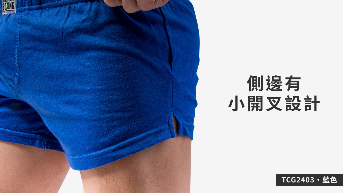 willmax,彈性,棉,g-cup,平口褲,男內褲,elastic,cotton,trunks,underwear,tcg240,藍色,blue,tcg2403