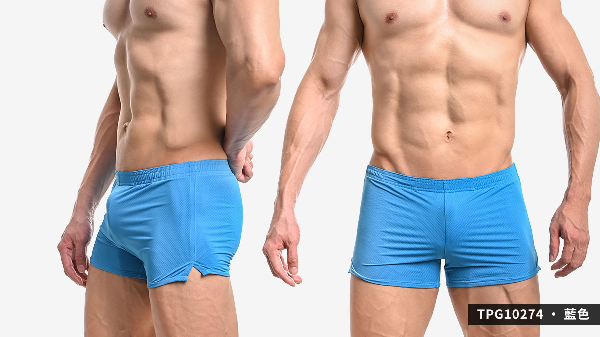 wantku,網孔,彈性,g-cup,平口褲,男內褲,mesh,elastic,trunks,underwear,tpg1027,紅色,red,藍色,blue,黃色,yellow,tpg10274